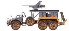 WWII German Krupp-Protze L2H143 kfz61- France 12 june 1940 - pin by Paolo Marzioli