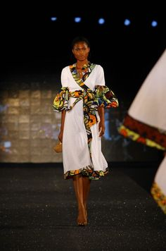 Arise Magazine Fashion Week Lagos 2012 Designer kiki clothing (Ghana) photo credit Kola Oshalusi Insigna media.