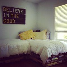 Spare bedroom... basement