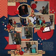 Kit: Man Cave 1 by Scraps N Pieces Template: Pack 57 by AKDesigns