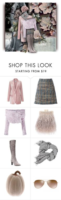 """""""inspired by autumn"""" by eilselrenrag ❤ liked on Polyvore featuring Trilogy, Etro, Daizy Shely, Maison Esve, Cole Haan, Oliver Peoples and fallpastel"""