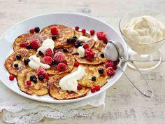 Gluten-free & coconutmilk pancakes - Gluteenittomat kookosletut