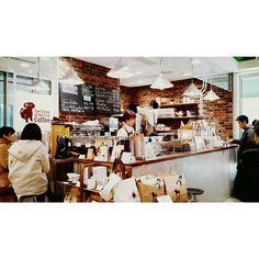 """The Cream of the Crop coffee #pantonginjapan #japancoffee #japancafe #panhopping"""