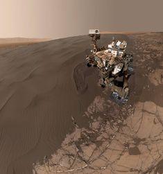"""NASA divulga """"selfie"""" que Curiosity tirou em Marte"""