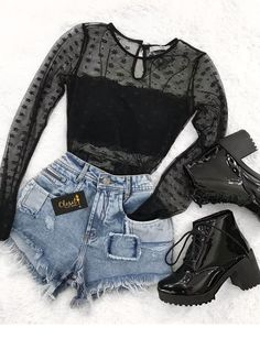 Perfect for a rock concert Inspiring Ladies Outfits - fashion Source by outfits moda Teen Fashion Outfits, Edgy Outfits, Grunge Outfits, Cute Casual Outfits, Cute Fashion, Outfits For Teens, Fall Outfits, Ladies Outfits, Black Outfits