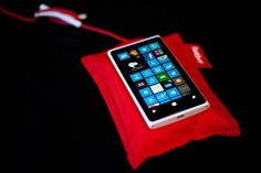 Now I have it. Lumia 920 with a Fatboy wireless chargher!
