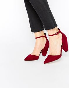 ASOS SPEECHLESS Pointed Heels in Plum http://asos.do/X8goGj