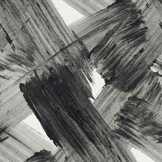 Feathr Wallpaper Plato Wallpaper - Monochrome  by Aoi Yoshizawa | 011000530701 | £119.00