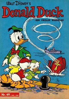 Tijdschrift Donald Duck 49-1965 Sinterklaas