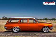 After falling in love with the Holden Monaro as a kid, Jamie McKay finally has his own – and it's a stunning Chev-powered street cruiser Holden Wagon, Xs650 Bobber, Holden Monaro, Holden Australia, Aussie Muscle Cars, Hot Rides, Drag Cars, Station Wagon, Hot Cars