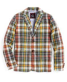 boys madras sport jacket | Brooks Brothers