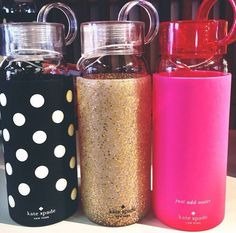 adore these kate spade water bottles!