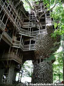 World's Largest Tree house :-)