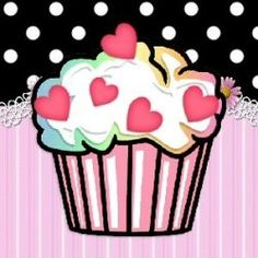 Cupcakes say I Love You....