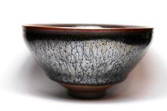 Silver Oil-Spot Tenmoku Glaze