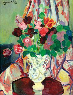 Suzanne Valadon 1865 - 1938 Bouquet De Tulipes