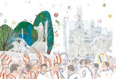Madrid late en la calle, monumento que respira. Un paseo repleto de guiños en Descubrir Madrid (Edicions Hipòtesi), con Ángel Domingo y Jacobo Muñiz de cicerones.