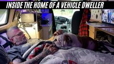 SLEEPING at a REST AREA | Man Shows His Simple Way Of Living In a Vehicle With His Dog - YouTube Rest Area, Tiny Houses, Simple Way, Rv, Vehicles, Dogs, Small Homes, Motorhome, Little Houses