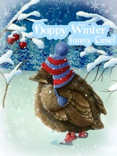 mira gifs - Page 12 Winter Time, Winter Season, Xmas Gif, Gifs, Animation, Wonderful Picture, Cookies Et Biscuits, Halloween, Beautiful Birds