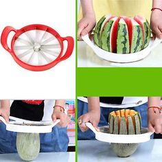 Kabalo Easy Fruit Melon Slicer - Cantaloupe Watermelon Slicer Kitchen Tool Stainless Steel Cutter | Fruugo