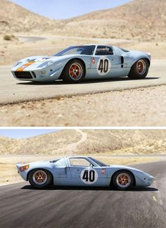 Ford Gt Fords Answer To Ferrari  Were Made In
