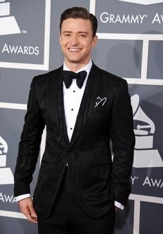 Justin Timberlake Walk The Red Carpet at the 55th Annual Grammy Awards