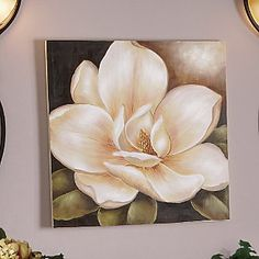 Magnolia Canvas Art from Ginny's ®