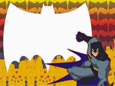Batman Party: Free Printable Mini Kit. Free Printable Bookmarks, Free Printable Invitations, Free Printables, Batman Free, Batman Invitations, Party Labels, School Labels, School Frame, Batman Party