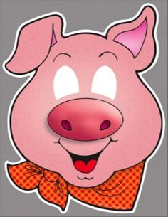 pig mask homemade farm animal costumes pinterest animal masks