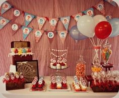 Circus Birthday party by colleen