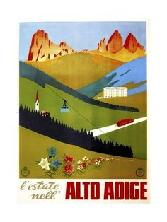New York American Hot Vintage Travel Landspace Toursim Poster 21 24x36 E-1291