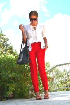 PS (Personal Style)- Red Pants City Look