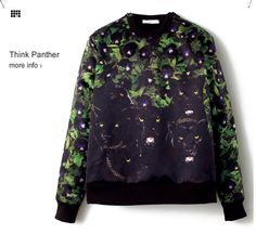 Givenchy black panther