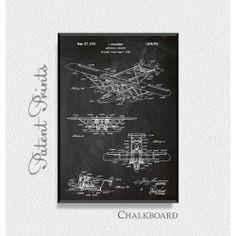 Amphibian Aircraft Sikorsky 1932 Patent Print