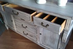 distressed grey furniture