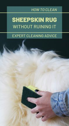 Expert Cleaning Advice: How To Clean Sheepskin Rug Without Ruining It Diy Cleaning Products, Cleaning Solutions, Cleaning Hacks, Speed Cleaning, Arm And Hammer Super Washing Soda, Cleaning Schedule Printable, Cleaning Schedules, Weekly Cleaning, Cleaning