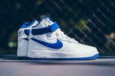 Nike Air Force 1 Hi Retro QS Summit White/Game Royal