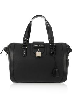 Gaia large leather tote by Jimmy Choo
