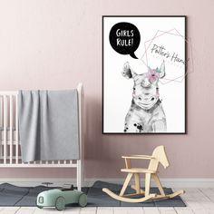 Rhino, Nursery Print, Safari Nursery, Printable Wall Art, Baby Girl, Digital Prints, Kids Room Decor, Safari Baby Shower Zebra Nursery, Lion Nursery, Bunny Nursery, Safari Nursery, Woodland Nursery, Nursery Prints, Nursery Art, Safari Animals, Woodland Animals