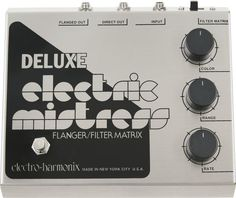 Electro-Harmonix Classics Deluxe Electric Mistress Flanger / Filter Matrix Guitar Effects Pedal