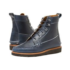Helm Donahue moccasin toe boots, $485 helmboots.com