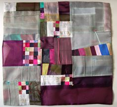 Bojagi - a traditional korean patchwork quilt WON JU SEO - A Collection of Won Ju Seo's Contemporary Bojagi Art