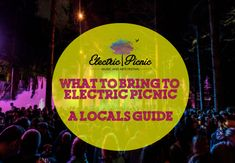 Looking for a local's guide on what to bring to electric picnic, are you going to Electric Picnic this year? Whether you've been to the Electric Picnic before, or it's your first time, here at TBF we've together our list on what you need to bring. Art Festival, Festivals, First Time, Digital Marketing, Picnic, Electric, Fairy, Bring It On, Website