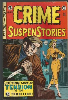 CRIME SUSPENSTORIES #25 EC Classic Reprint #6 Comics East Coast'74 EvansCrandall