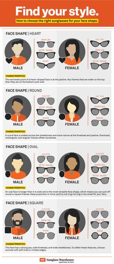 428d0fa8169c How to Choose the Best Sunglasses for Your Face Shape