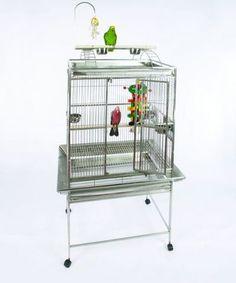 Medium Play Top Bird Cage with Bird Toy Hook
