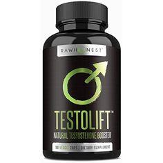 Natural Testosterone Booster Increases Energy, Libido  #VitaminsDietarySupplements