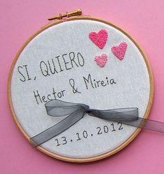 {Bastidores porta-anillos para tu boda} - {Love Notes} Las Notas de amor de Vintage & Chic