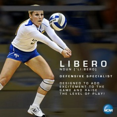 Libero! I remember our team calling it berito because no one could say the actual word.