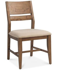 Athena Dining Side Chair - Furniture - Macy's 4179; table too wide and long